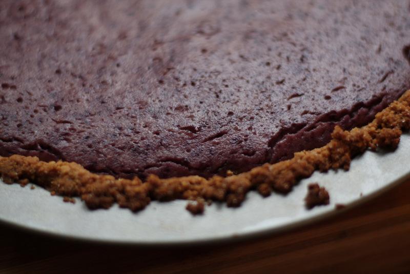 vegan blueberry cheesecake02