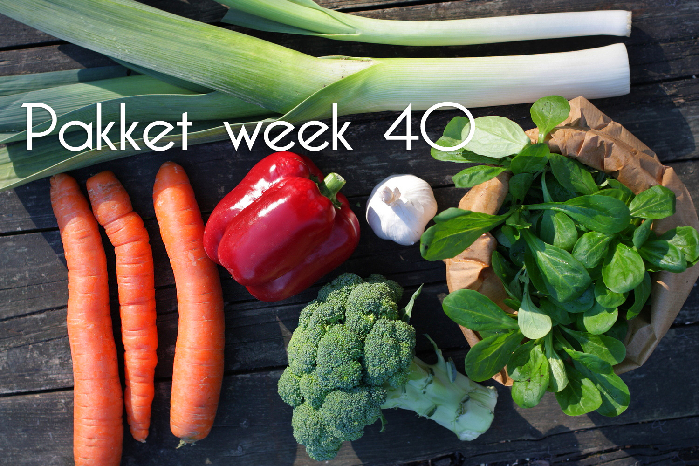 pakket week 40